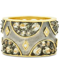 Freida Rothman - Rose D'or Pavé Band Ring - Lyst