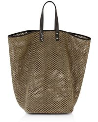 Creatures of Comfort - Tall Raffia Market Bag - Lyst