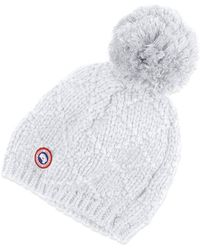 Canada Goose' Merino Wool Watch Hat Color Ink Blue, Size One Size