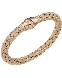 Chimento - 18k Rose Gold Stretch Classic Collection Pyramid Shell Bracelet With Diamonds - Lyst