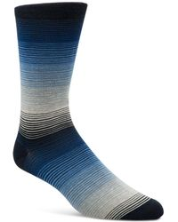 Cole Haan - Gradient Fine Stripe Socks - Lyst