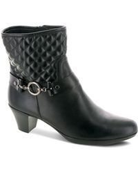 Munro - Laconia Mid Heel Boots - Lyst