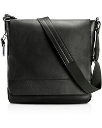 Shinola - Essex Leather Messenger Bag - Lyst