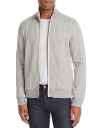 Billy Reid - Ribbon Quilted Double - Faced Track Jacket - Lyst