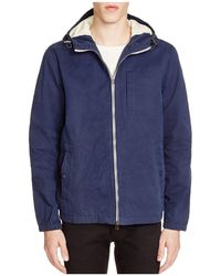 Surfside Supply - Hooded Zip-front Shell Jacket - Lyst