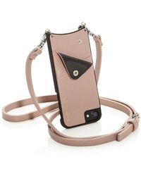 Bandolier - Leather Iphone Crossbody - Lyst