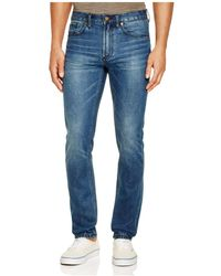 Blank - Slim Fit Jeans In Shark Punch - Lyst
