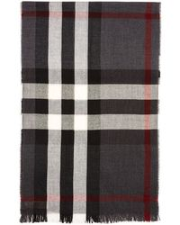 Burberry - New Crinkle Scarf - Lyst