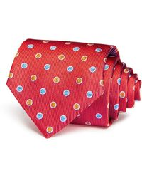 Turnbull & Asser - Multicolored Circles Classic Tie - 100% Bloomingdale's Exclusive - Lyst