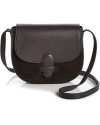 Olivia Clergue - Marisa Medium Saddle Bag - Lyst