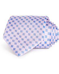 Bloomingdale's - Florette Neat Silk Classic Tie - Lyst