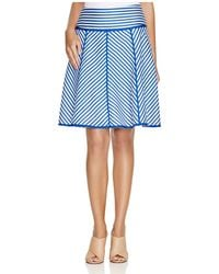 Finity | Striped A-line Skirt | Lyst