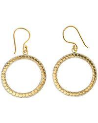 Anna Beck - Bali Hoop Drop Earrings - Lyst