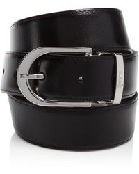 Tumi - Horseshoe Reversible Dress Belt - Lyst