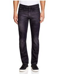 Blank - Slim Fit Jeans In Black Rhino - Lyst