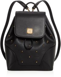 MCM - Claudia Studded Backpack - Lyst