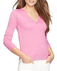 Pink Pony - Lauren V-neck Sweater - Lyst