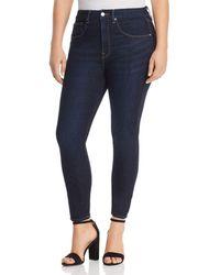 GOOD AMERICAN - Good Legs Crop Skinny Jeans In Blue269 - Lyst