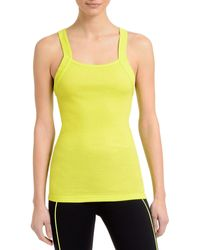 2xist - 2(x)ist Square Neck Ribbed Tank - Lyst