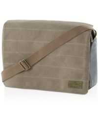 Hex - Canvas Messenger Bag - Lyst