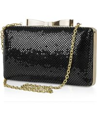 Jessica Mcclintock - Bianca Metallic Mesh Clutch - Compare At $68 - Lyst