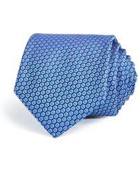W.r.k. - Geometric Dot Print Classic Tie - Lyst