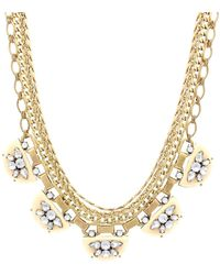 Sparkling Sage - Layered Chain & Embellishment Crescent Necklace - Compare At $147 - Lyst