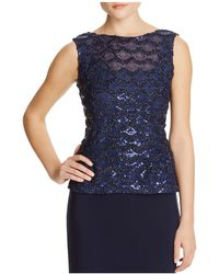 Marina - Soutach Sequin Lace Top - Compare At $149 - Lyst