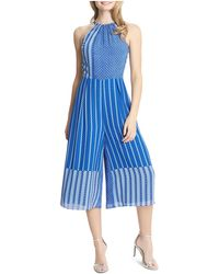 Cece by Cynthia Steffe - Alicia High Neck Jumpsuit - Lyst