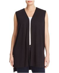 Love Scarlett - Plus Lace-up Back Vest - Lyst