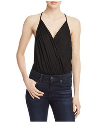 Cotton Candy - Crossover Bodysuit - Lyst