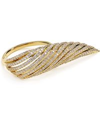 Nadri - Wing Ring - Lyst