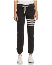 Sundry - Striped Terry Sweatpants - Lyst