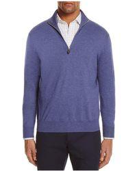 Bloomingdale's - Quarter-zip Sweater - Lyst