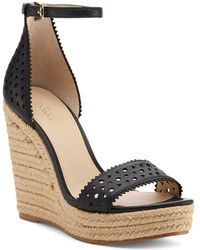 Botkier - Women's Jamie Leather Espadrille Wedge Sandals - Lyst