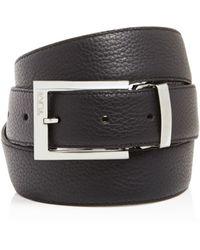 Tumi - Pebbled Harness Reversible Belt - Lyst