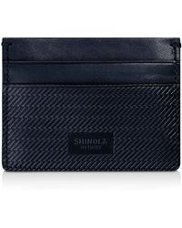 Shinola - Embossed Card Case - Lyst