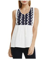 Two By Vince Camuto - Embroidered Tank - Lyst