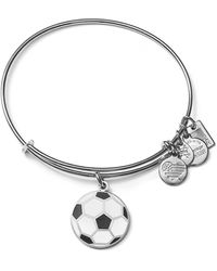 ALEX AND ANI - Team Usa Soccer Expandable Wire Bangle - Lyst