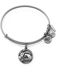 ALEX AND ANI - Team Usa Swimming Expandable Wire Bangle - Lyst
