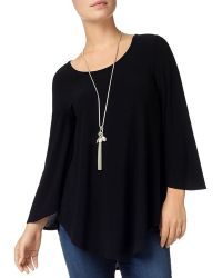 Phase Eight - Amelia Curved Hem Top - Lyst