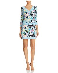 Macbeth Collection - Border Trim Dress - Compare At $54 - Lyst