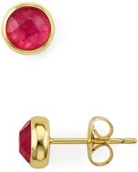 Gorjana - Stone Stud Earrings - Lyst