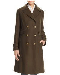Basler - Double-breasted Military Officer Coat - Lyst