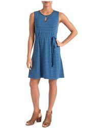 Lyssé - Zanzibar Striped Drawstring Dress - Lyst