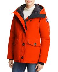 Canada goose Rideau Parka in Red (Redwood) | Lyst