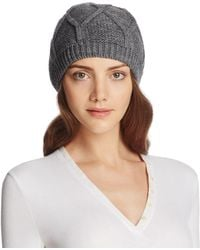 Bettina - Slouchy Knit Beanie - Lyst