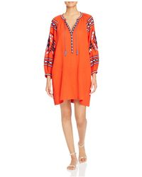 Scotch & Soda | Embroidered Boho Dress | Lyst