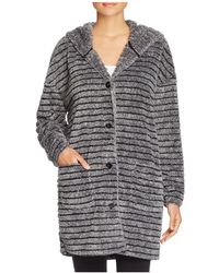 Pj Salvage - Striped Cosy Cardigan Robe - Lyst