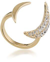 ABS By Allen Schwartz - Crescent Ring - Lyst